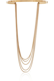 Delfine gold-tone necklace
