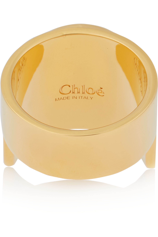 Chloé Gisele gold-tone ring