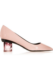 Nicholas Kirkwood Carnaby patent-leather pumps
