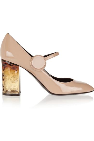 35ac5e71188 Nicholas Kirkwood. Carnaby patent-leather Mary Jane pumps