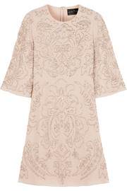 Needle & Thread Fleur embellished chiffon mini dress
