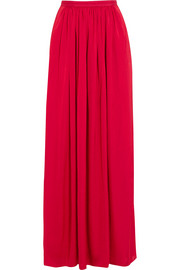 Needle & Thread Pandora satin maxi skirt