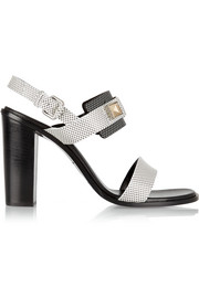Proenza Schouler Lizard-effect leather sandals
