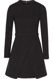 Proenza Schouler Wrap-effect crepe mini dress
