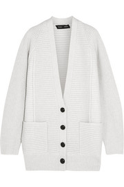 Proenza Schouler Ribbed wool and cashmere-blend cardigan