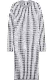 Proenza Schouler Cable-knit wool-blend dress