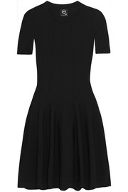 McQ Alexander McQueen Stretch-knit mini dress
