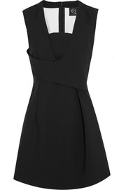 McQ Alexander McQueen Stretch-scuba mini dress
