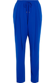 McQ Alexander McQueen Pleated crepe tapered pants