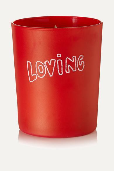 BELLA FREUD PARFUM Loving Tuberose And Sandalwood Scented Candle, 190G in Red