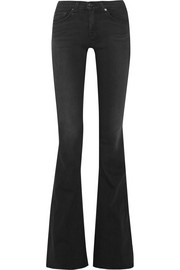 Bell high-rise flared jeans