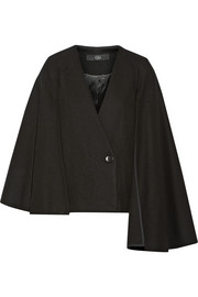 Quecha felted wool-blend cape blazer