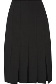 Cuarteto Carwash paneled crepe skirt