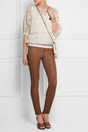 MiH Jeans The Ellsworth stretch-leather skinny pants