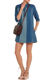 MiH Jeans Jane paneled denim mini dress