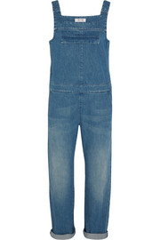 Grace denim overalls