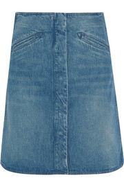Bodiam stonewashed denim skirt
