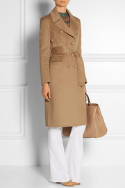 Gucci Wool and angora-blend coat