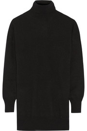 Oversized cashmere turtleneck sweater