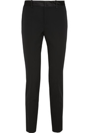 Gucci Stretch wool and silk-blend tapered pants