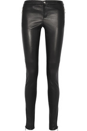 Gucci Stretch-leather leggings