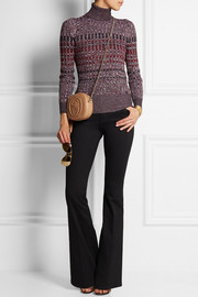Gucci Ribbed-knit wool turtleneck sweater