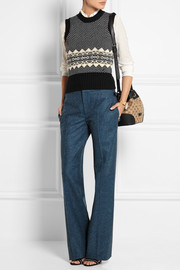 Gucci Intarsia knitted vest