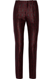 Gucci Jacquard tapered pants