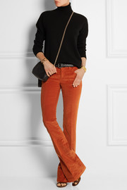 Gucci Stretch-cotton corduroy flared pants