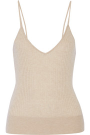 Tamara Mellon Ribbed cashmere top