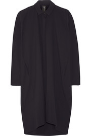 Tasi oversized stretch-crepe dress