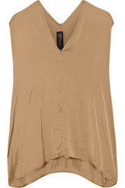 Ina draped satin top