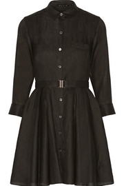 Theory Jalyis ramie shirt dress