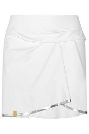 Stretch-jersey mini skirt