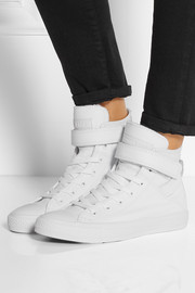 Chuck Taylor All Star Brea leather high-top sneakers