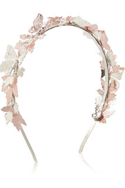 Hazel silver and rose gold-tone headband