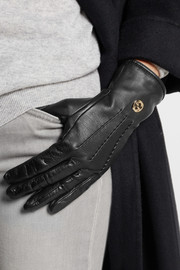 Gucci Carryover leather gloves