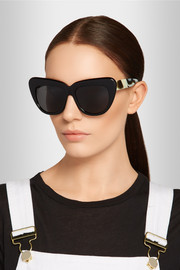 Brigitte cat eye acetate sunglasses