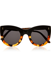 Boca cat-eye acetate sunglasses