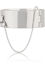 Safety Chain silver-plated bracelet
