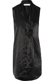 Victoria Beckham Satin mini dress