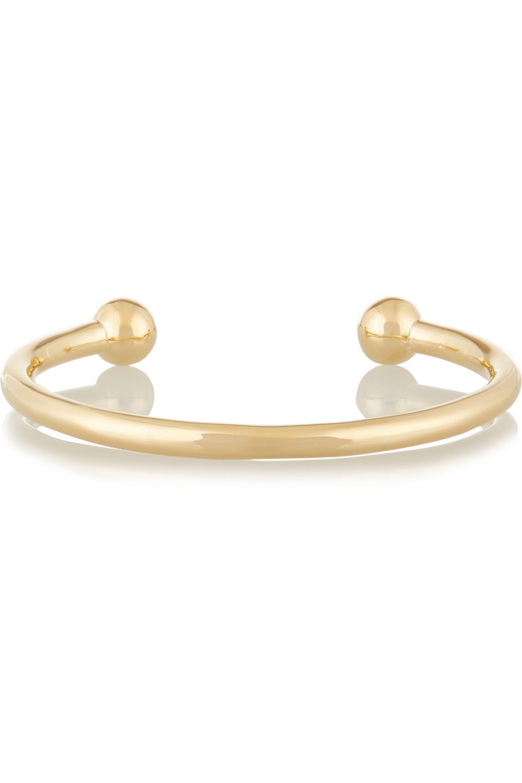 Jennifer Fisher Ball gold-plated cuff