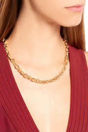 Gucci Marina Chain 18-karat gold necklace