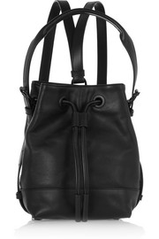 Izzy mini leather backpack