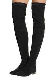 Fetej stretch-suede over-the-knee boots