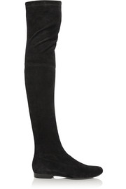 Robert Clergerie Fetej stretch-suede over-the-knee boots