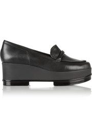 Yokole leather loafers