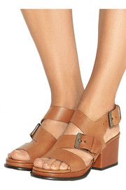 Erol leather sandals