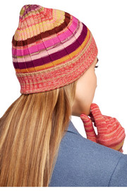 Missoni Wool-blend beanie and gloves