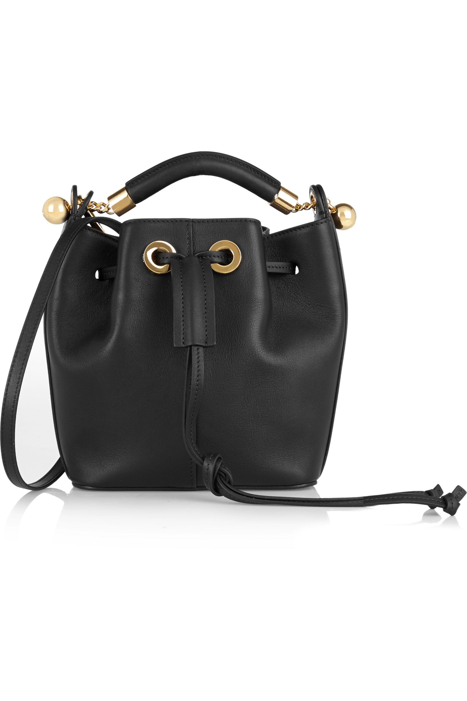 Chloé Gala leather bucket bag